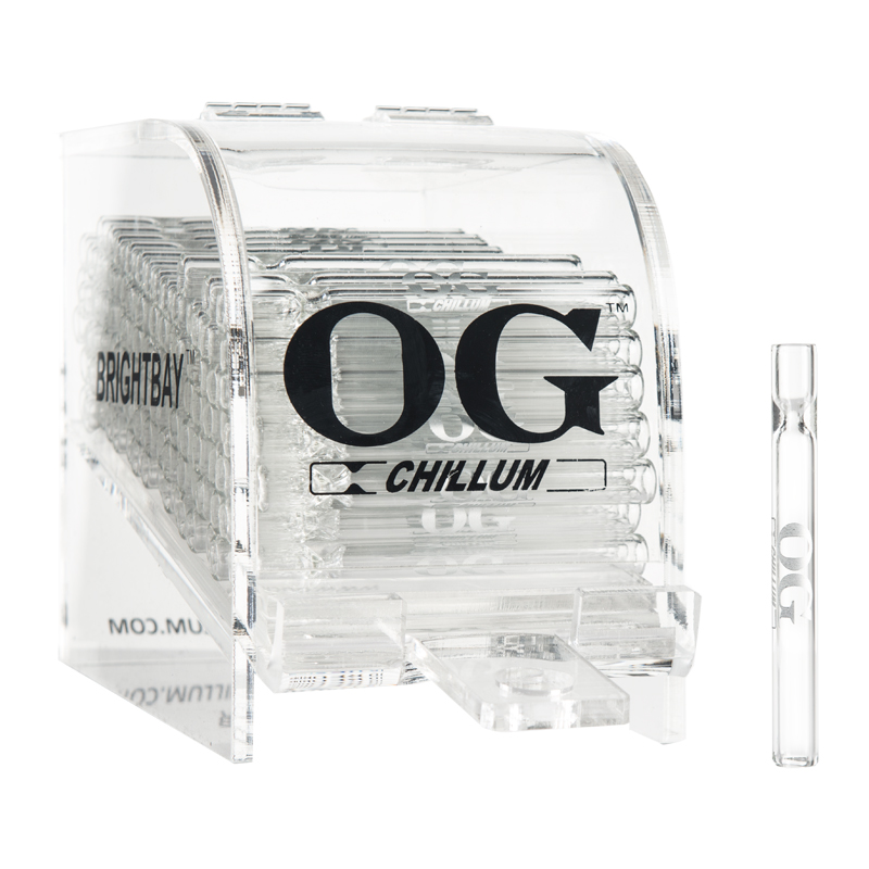 "4"" OG Chillum Display 100ct"